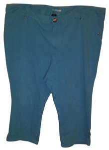 Lane Bryant Capris Blue