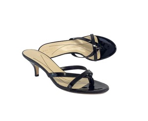 Kate Spade Black Patent Leather Heels Sandals