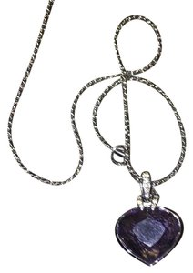 Swarovski Swarovski Blue Crystal Necklace