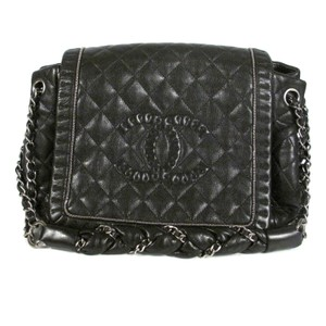 Chanel Chain Flap Quilted Silver Shoulder Bag