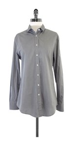 Dolce&Gabbana Grey Cotton Button Up Shirt Button Down Shirt