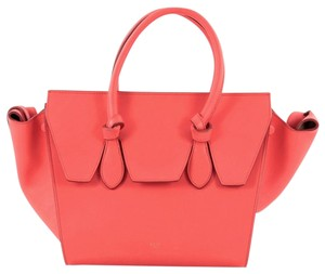 Céline Celine Leather Tote in Pink