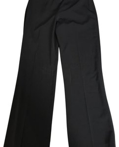 White House | Black Market Wide Leg Pants Black