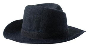 jack and Lucy (new) Jack & Lucy Black Wool Hat with wide brim