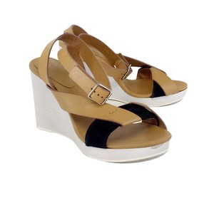 See by Chloé Colorblock Leather Wedges