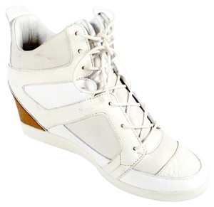 Yohji Yamamoto Sneaker Y-3 Lace Up White Wedges