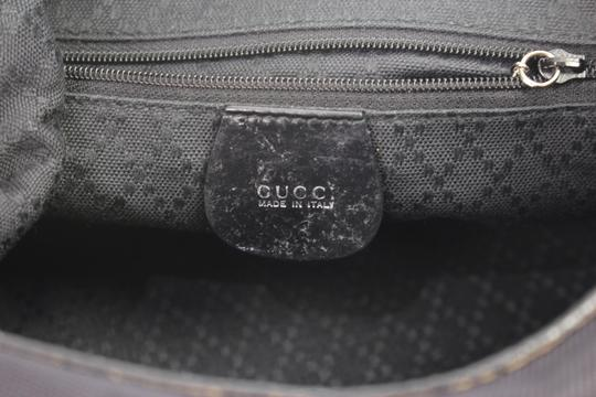 Gucci Nylon Bamboo Hobo Shoulder Bag Image 8