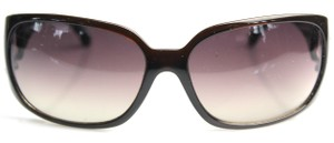 Chanel Brown Square Eye Sunglasses