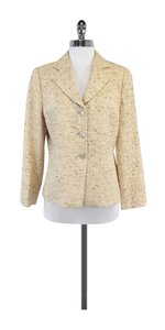 Armani Collezioni Beige Checkered Jacket