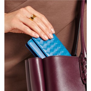 Bottega Veneta Wristlet in Blue