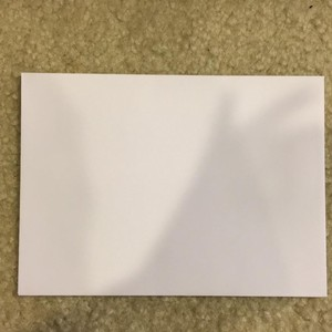 100 White Envelopes