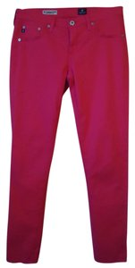 AG Adriano Goldschmied Blend Skinny Pants pink