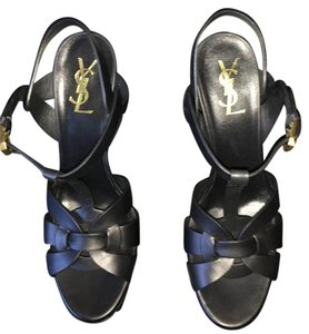 Saint Laurent Black leather Sandals