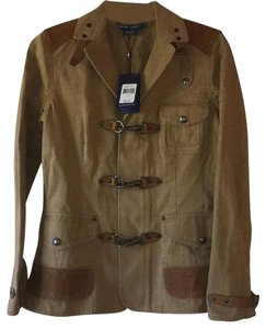 Ralph Lauren Field - Khaki Leather Jacket