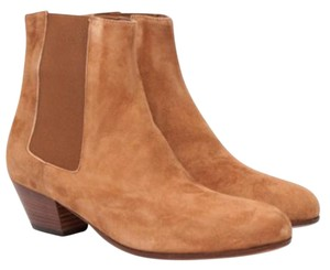 Common Projects Leather Suede Tan Boots