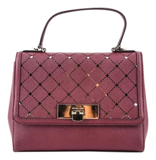 Preload https://img-static.tradesy.com/item/19788753/michael-kors-jamey-small-messenger-bagmerlot-red-saffiano-leather-satchel-0-2-540-540.jpg