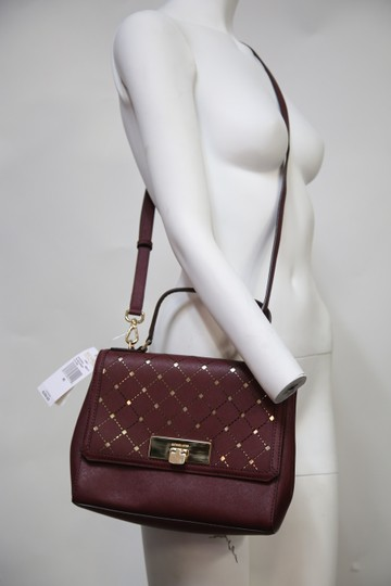 Michael Kors Satchel in red Image 2