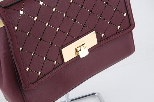 Michael Kors Satchel in red Image 4