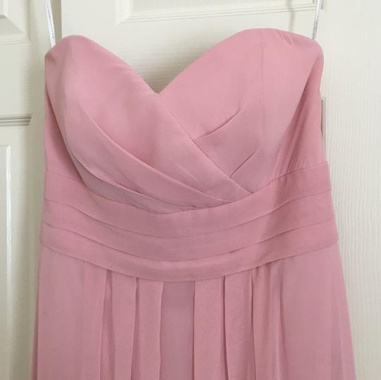 After Six Light Pink Polyester Formal Bridesmaid/Mob Dress Size 10 (M) Image 1