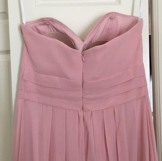 After Six Light Pink Polyester Formal Bridesmaid/Mob Dress Size 10 (M) Image 2