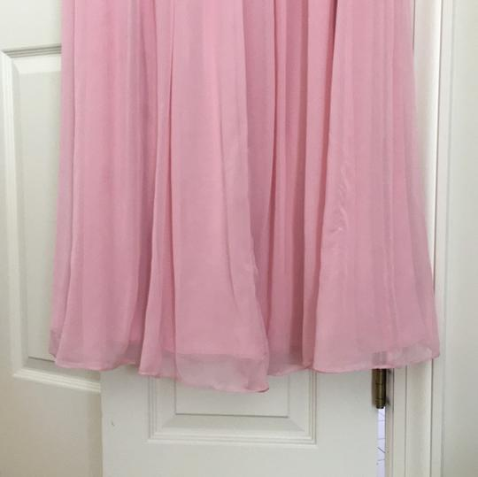 After Six Light Pink Polyester Formal Bridesmaid/Mob Dress Size 10 (M) Image 4