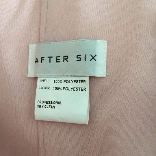 After Six Light Pink Polyester Formal Bridesmaid/Mob Dress Size 10 (M) Image 5