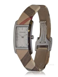 Burberry BRAND NEW WOMENS BURBERRY (BU9503) HERITAGE NOVA CHECK LEATHER WATCH