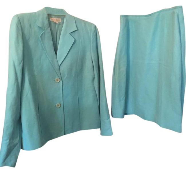 Preload https://img-static.tradesy.com/item/19788968/casual-corner-blue-skirt-suit-size-12-l-0-2-650-650.jpg