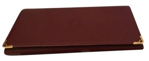 Cartier Real Vintage CARTIER Burgundy Leather Wallet w/ Key Holder
