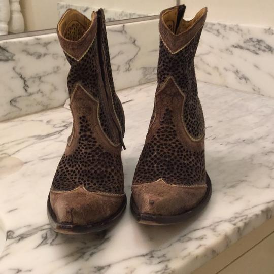 Marco Delli Italian Cowboy Boot Brown Boots Image 1