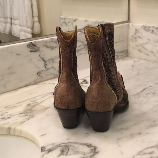 Marco Delli Italian Cowboy Boot Brown Boots Image 2