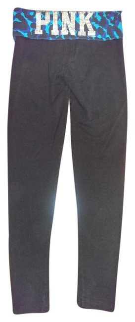 Item - Black Blues and Silver Athletic Activewear Bottoms Size 0 (XS, 25)