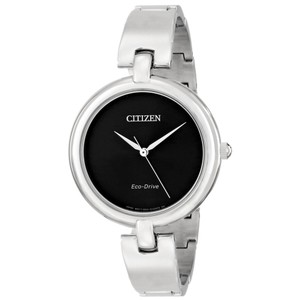 Citizen NEW WOMENS CITIZEN ECO-DRIVE (EM0220-88E) SILHOUETTE ANALOG WATCH