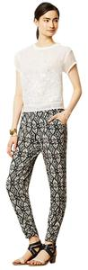 Lilka Anthropologie Jogger Straight Pants Black