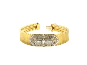 18k & 14k Gold Diamond Bracelet
