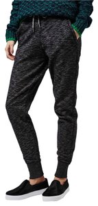 Topshop Athletic Pants Gray, black