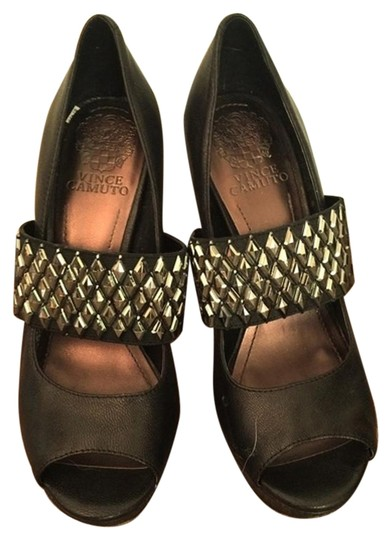 Preload https://img-static.tradesy.com/item/19789287/vince-camuto-black-with-metal-studs-excellent-used-condition-mulesslides-size-us-65-regular-m-b-0-2-540-540.jpg