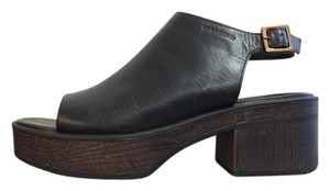 Vagabond Noor Leather Black Sandals