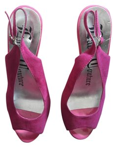 Lady Couture Hot Pink Pumps