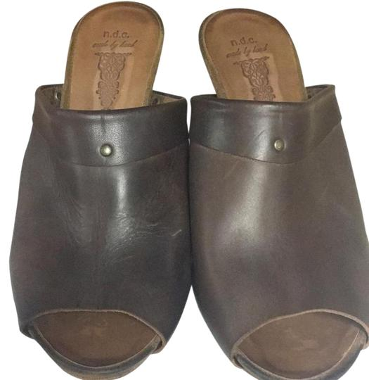 N.d.c hand make shoes Mules Image 0