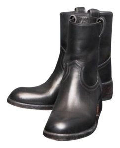 Sartore Leather Black Boots
