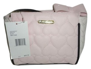 Betsey Johnson Small Satchel Cross Body Bag