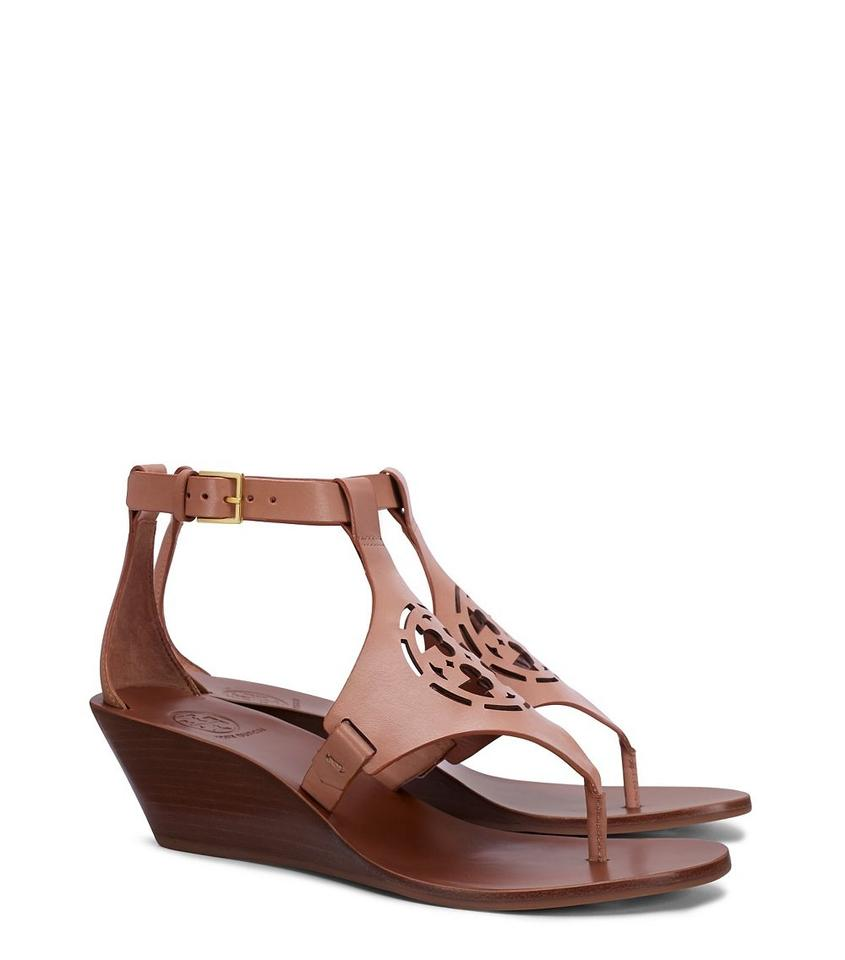 Tory Burch Wedges Sand Zoey 50mm Sandals Wedges Burch dfd0e1