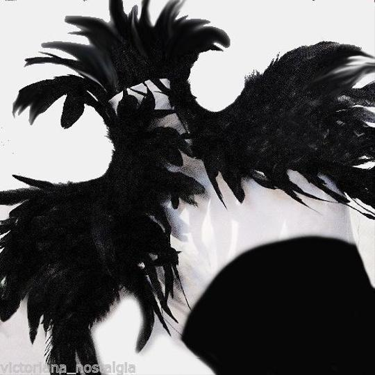 AgaTha CouTure Collection Brand New Hand Designed Ostrich Feather Bolero (one size) Image 2