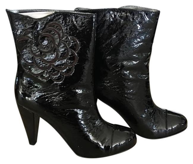 Item - Black Michelle Patent Leather Boots/Booties Size US 9 Regular (M, B)
