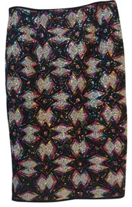 ASTR Skirt Black multi