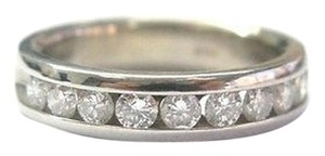 Other Fine Round Cut Diamond Channel Setting Ring Wg 14kt 1.00ct