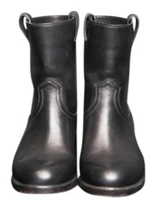 Sartore Leather Leather Black Boots