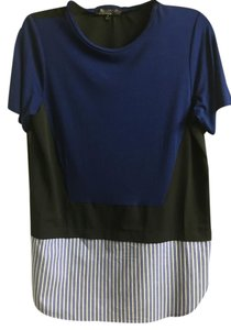 Thakoon T Shirt Black and blue