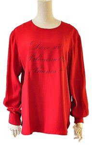Moschino Top red